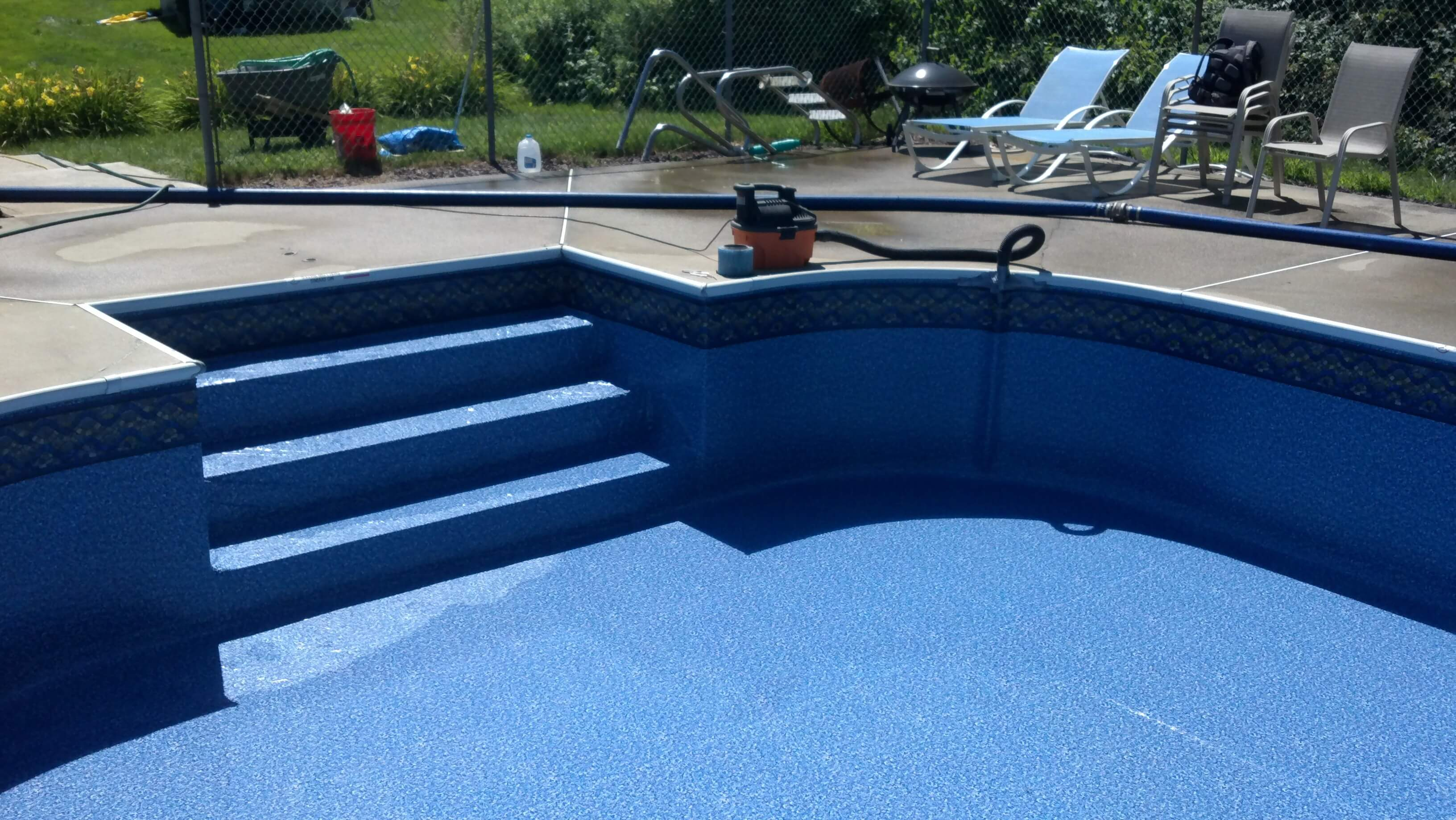 Inground Pools inground pool liner cost - liner labor and more