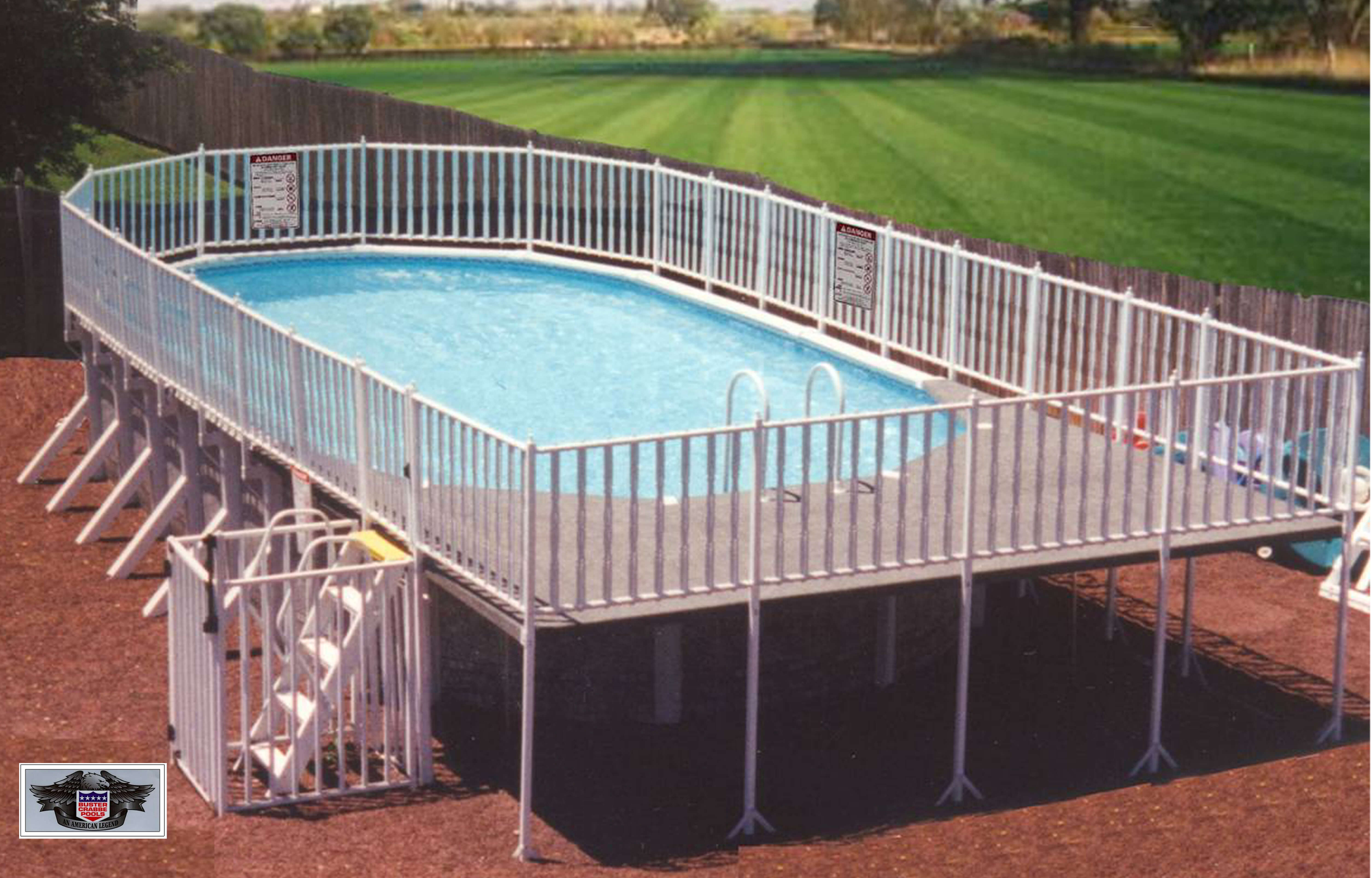 buster crabbe pool - american swimming pool manufacturer - about