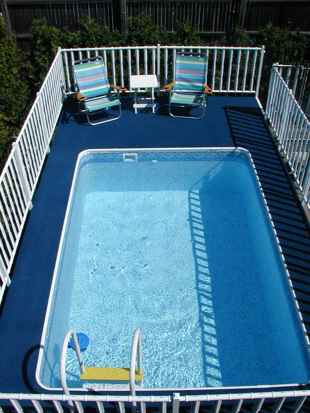 Admiral 39 s walk pool compare to gibraltar kayak for Square above ground pool