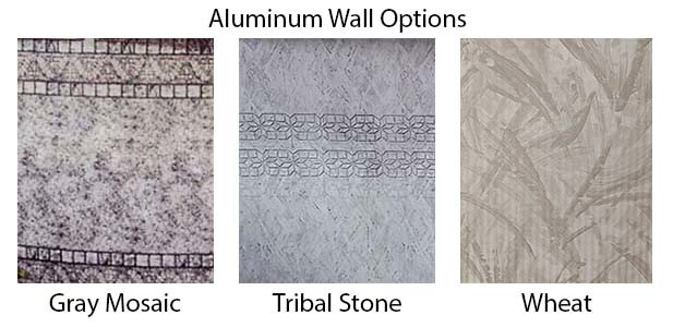 MGK Pool's Aluminum Wall Options
